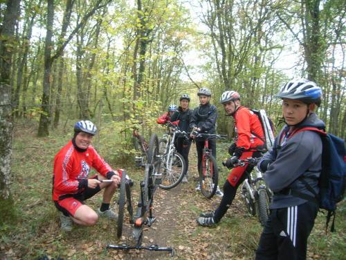 Christophe et son vélo mal entretenu !